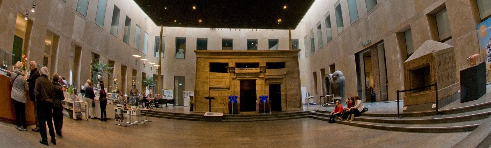 Expositie Taffeh-tempel Rijksmuseum van Oudheden